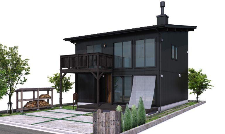 FREEQ HOMESの2階建て住宅 BOOTS